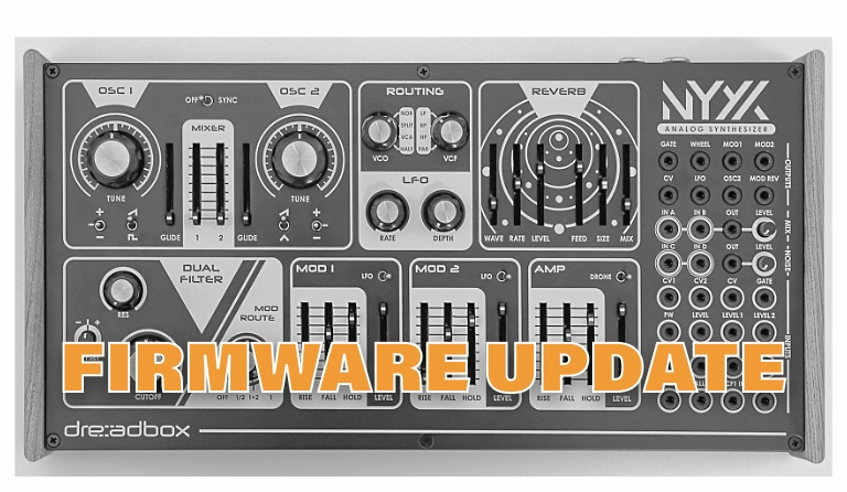 Firmware-Update: Dreadbox Nyx V2
