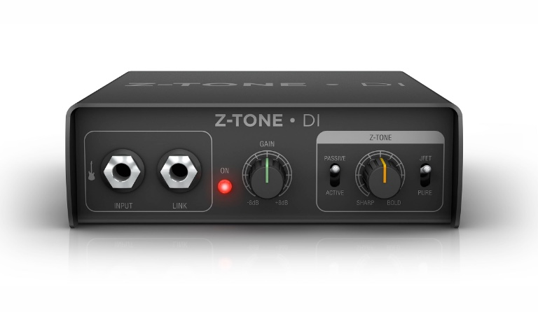 Active DI/preamp with advanced tone shaping