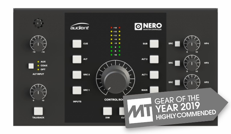 Audient Nero Gear of the Year 2019