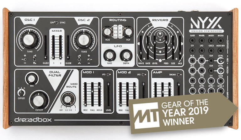 Gear Of The Year: Best hardware product of 2019, Dreadbox NYX 2
