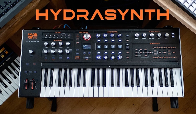 New ASM Hydrasynth Firmware available OS 1.4