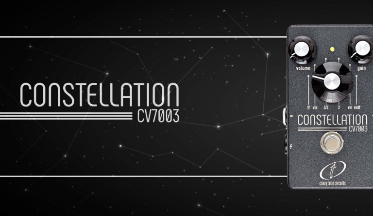 Special limited edition of the Constellation CV7003 pedal