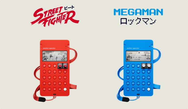 New cases for PO-128 Mega Man and PO-133 Street Fighter