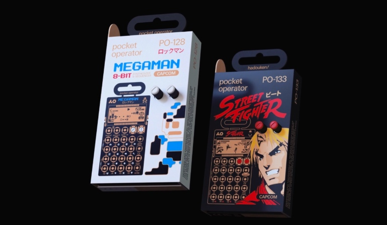 Introducing Pocket Operator capcom® series.