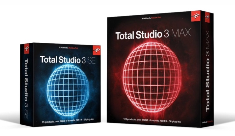IK Multimedia Total Studio 3 MAX and SE